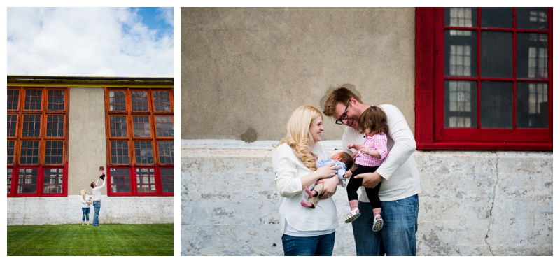 Canada Pacific Railway Family Photography Calgary