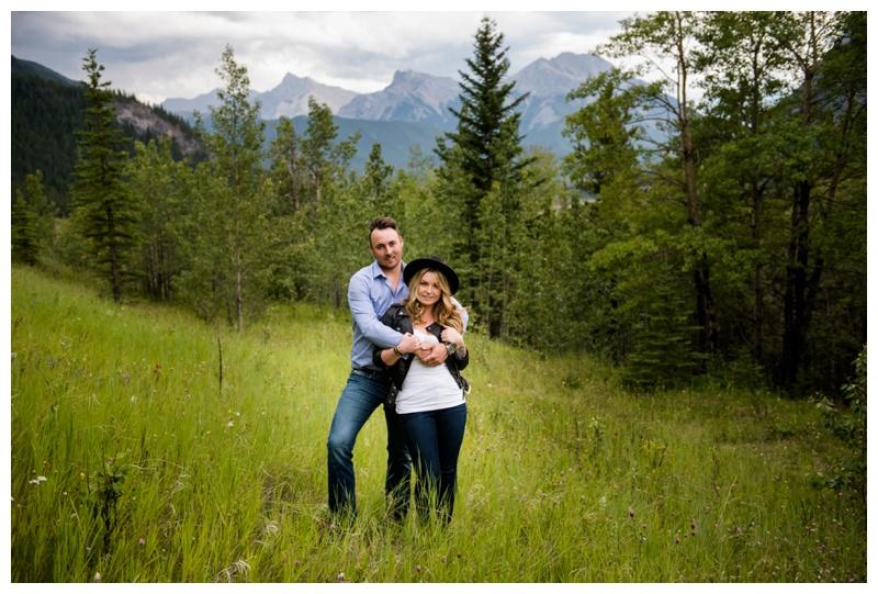 Rocky Mountain Engagement Photogaphy