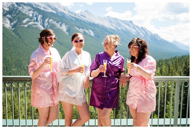 Bridal Prep - Banff Wedding