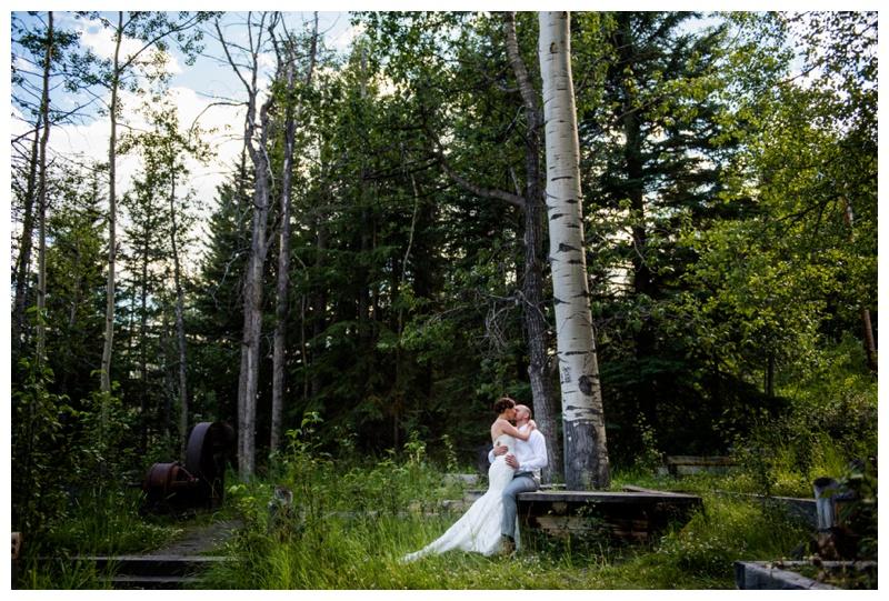 Town of Banff Wedding Photos