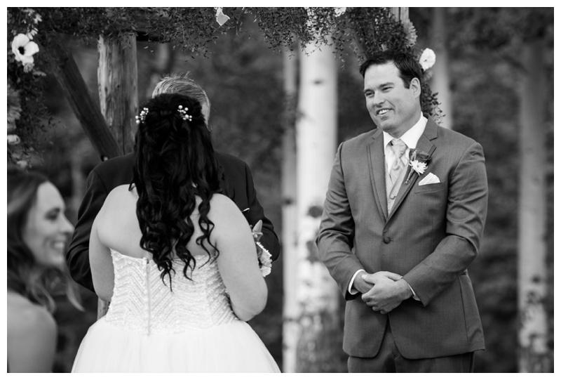 Outdoor Wedding Ceremony Hinton Alberta