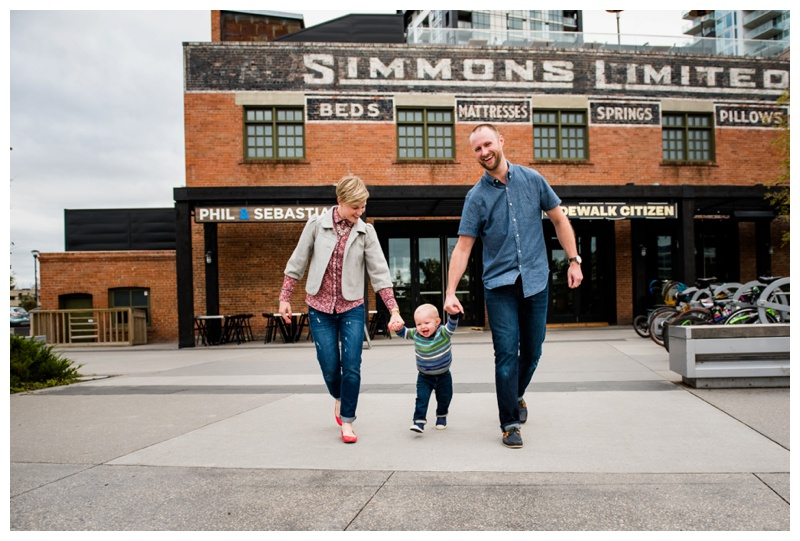 Simmons Building Family Photos Calgary