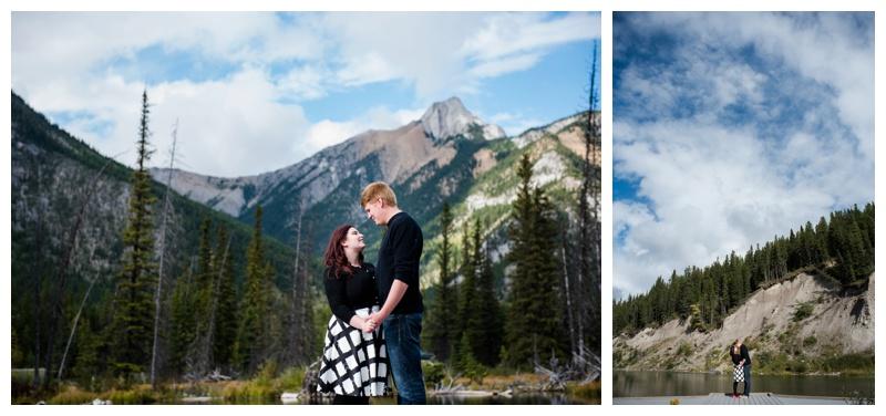 Kananaskis Mt. Lorette Ponds Engagement Photography