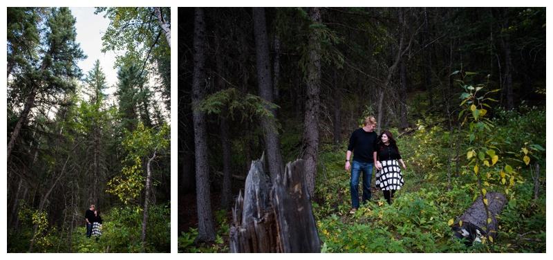 Mountain engagement Photography Banff
