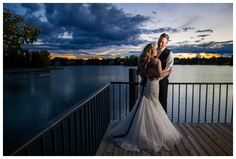 Calgary Lake House Wedding Reception