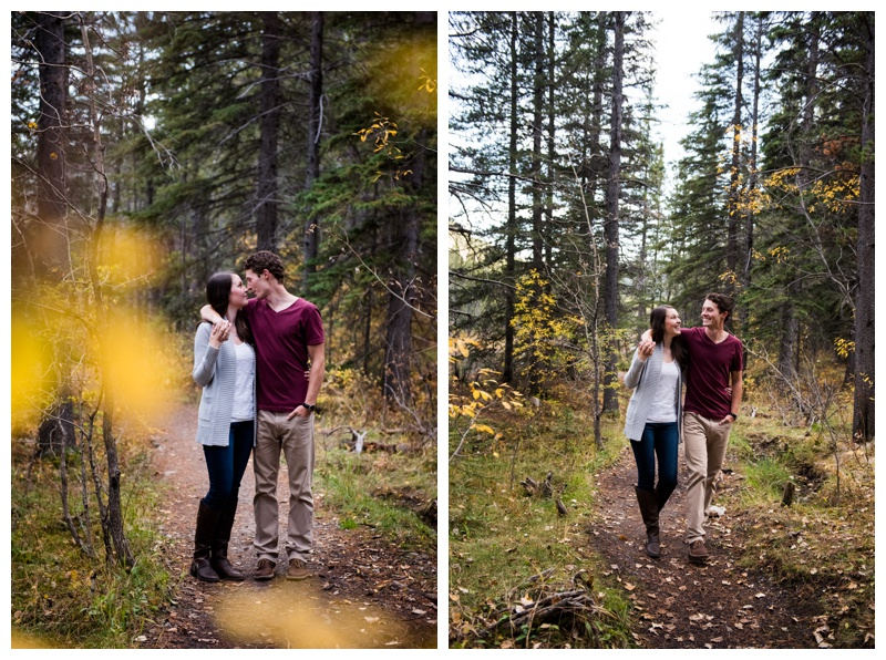 Fall Engagement Session Calgary