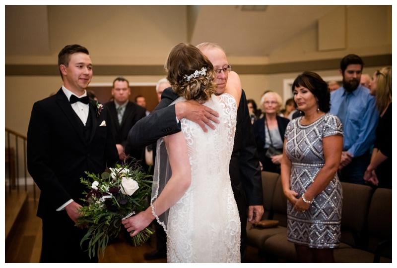 Calgary Church Wedding Photography