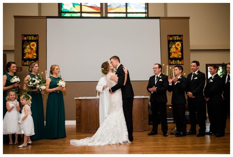 Okotoks Church Wedding Photography