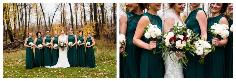 Bridesmaid Photos Calgary Alberta