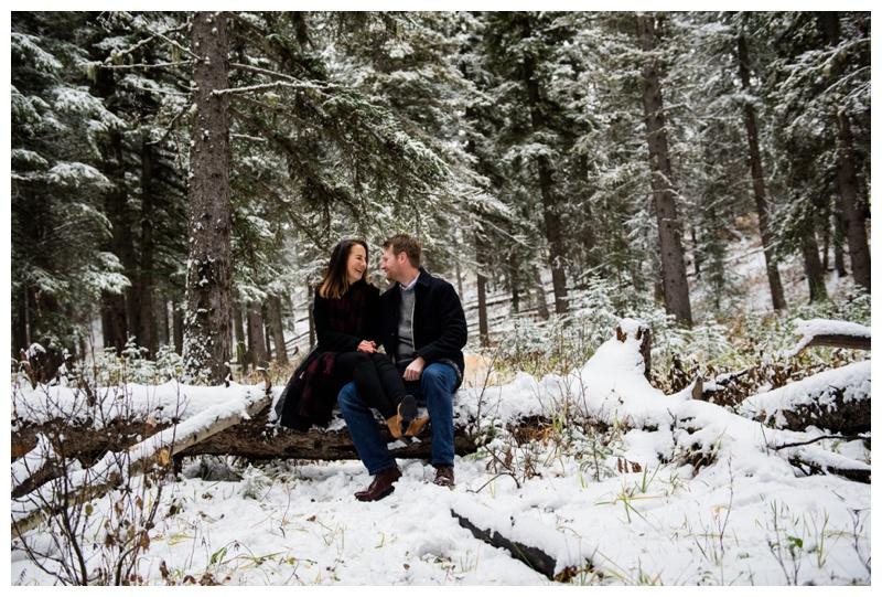 Winter Engagement Photography Calgary