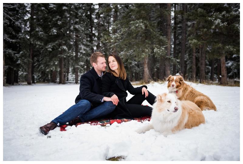 Bragg Creek Provincial Park Couple Photos