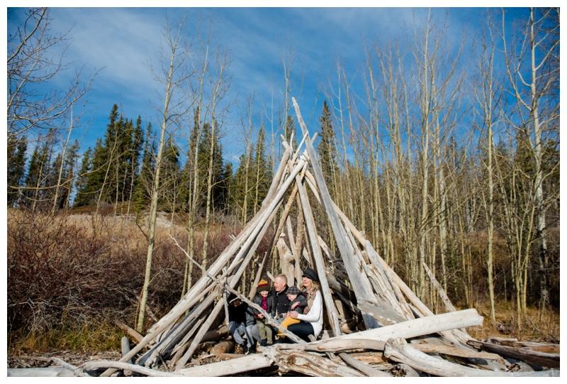 Alberta Barrier Lake Family Photography