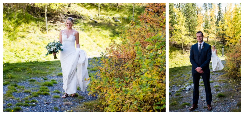 Canmore First Look Photography