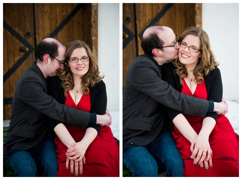 Spruce Meadows Engagement Session