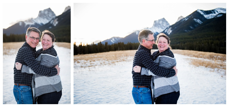 Quarry Lake Canmore Couple Session