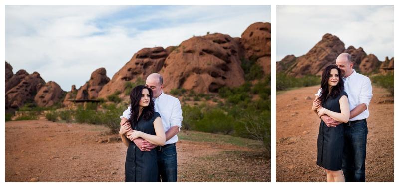 Papago Park Engagement Photography
