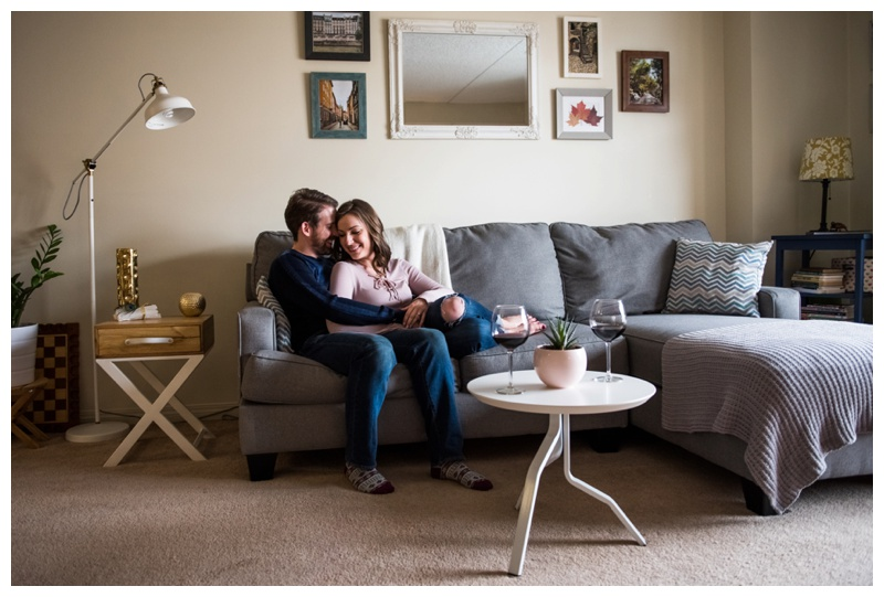 In Home Engagement Session Calgary