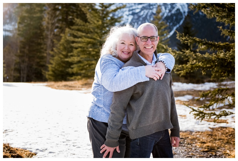 Canmore Anniversary Photography