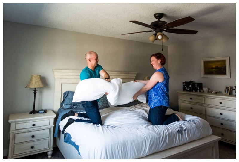 Airdrie In Home Couple Session