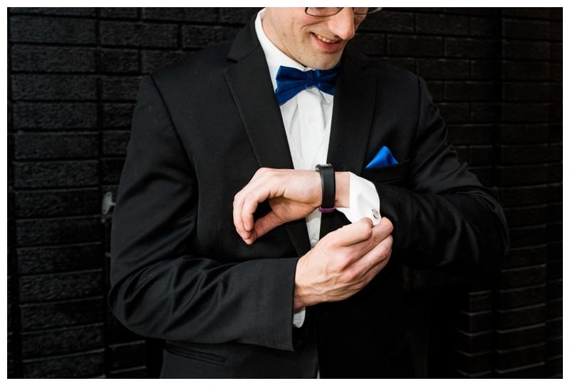 Calgary Wedding Photos - Groom Prep