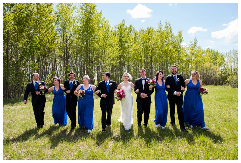 Nose Hill Park Wedding Photography