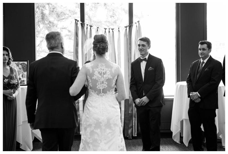 University of Clagary Wedding Ceremony