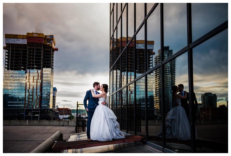 Calgary Downtown Wedding Photography