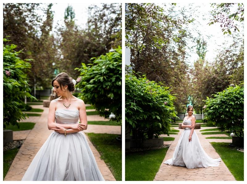 Vera Wang Wedding Dress -Calgary Wedding