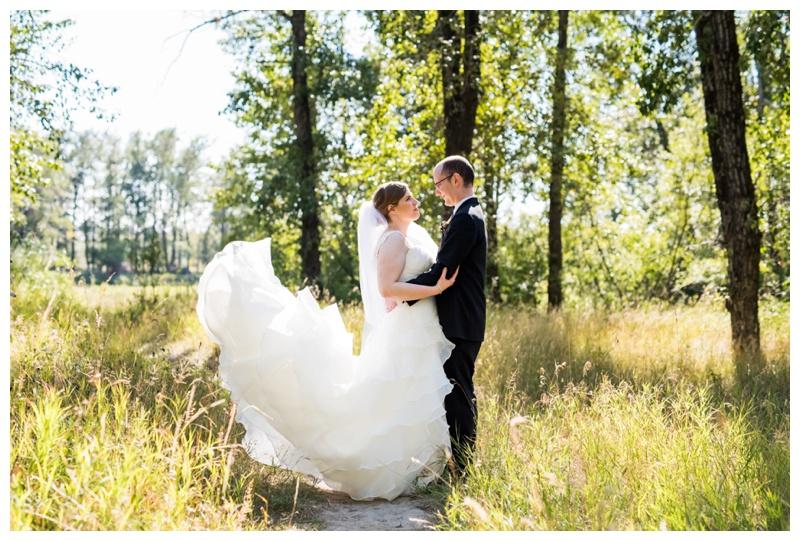 Calgary Carburn Park Wedding Photos