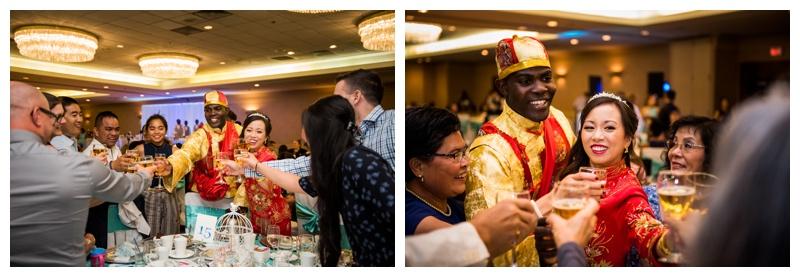 Calgary Chinese Wedding Reception