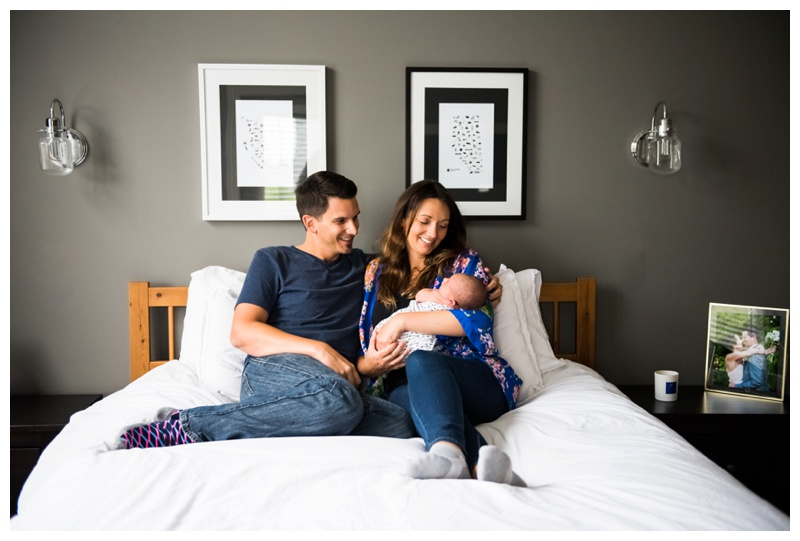 Calgary Lifestyle Newborn Session