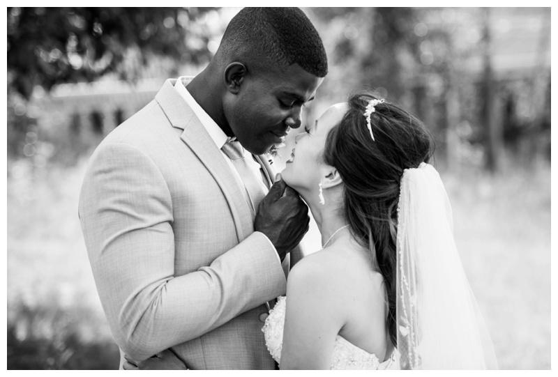 Calgary St. Patricks Island Wedding Photos