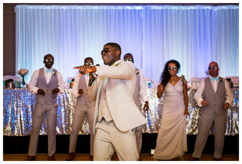 Calgary Wedding Reception Photography