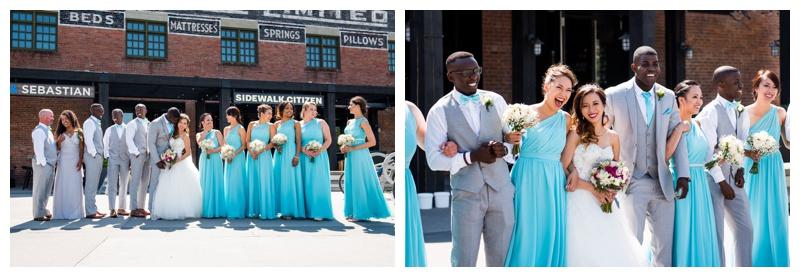 East Village Wedding Photography Calgary