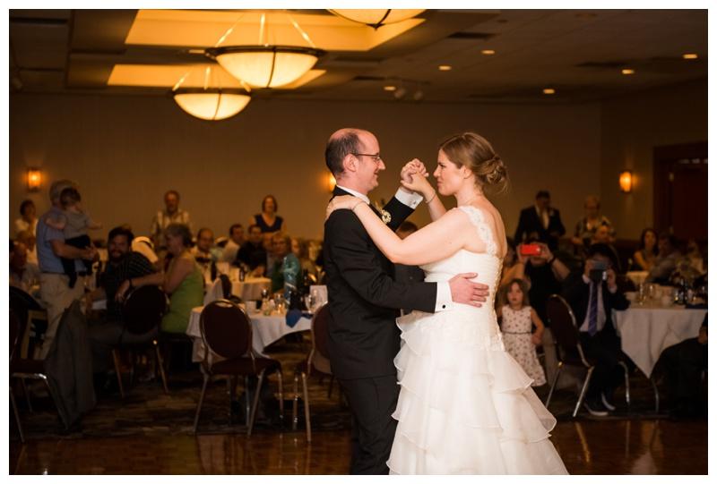 First Dance Wedding Photography - Glenmore Inn Calgary
