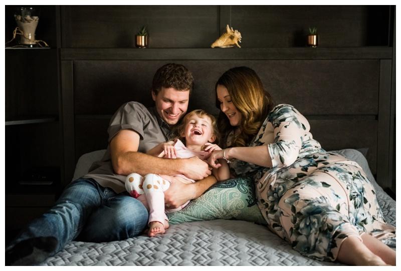 At Home Maternity Photos Calgary