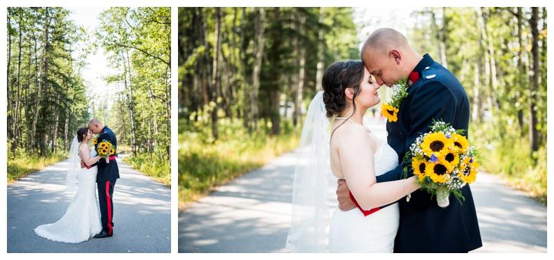 Calgary Policeman Wedding Photography