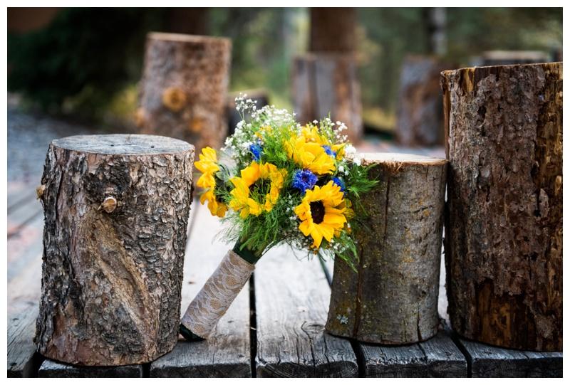 Fall Wedding Boquets - Canmore Alberta