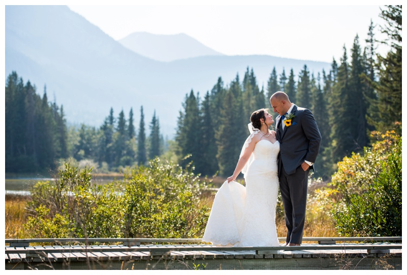 Canmore Camp Chief Hector Wedding
