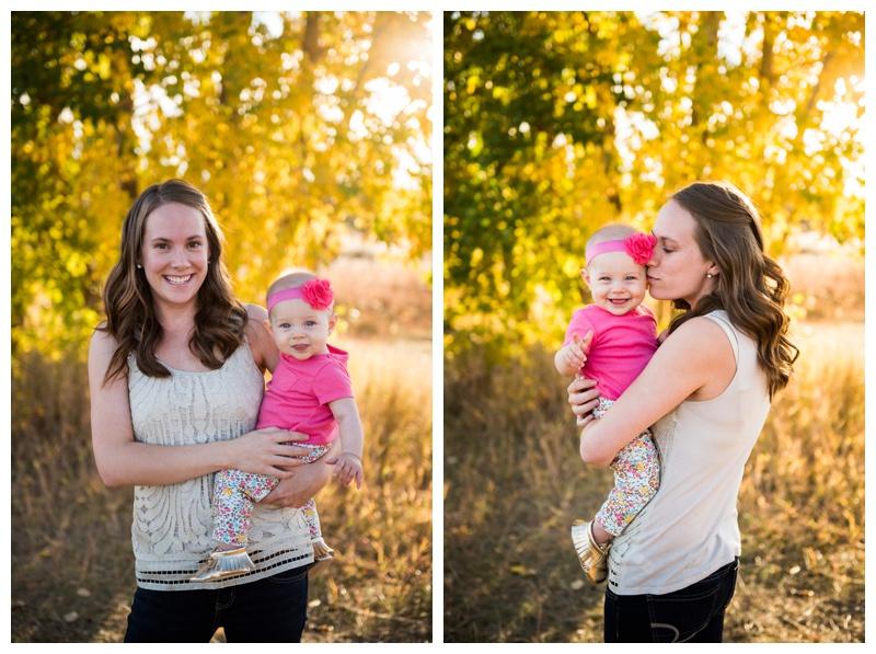 Autumn Fish Creek Park Family Photos