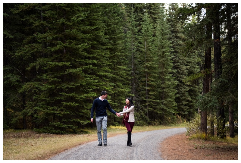 Banff Engageemnt Photographers