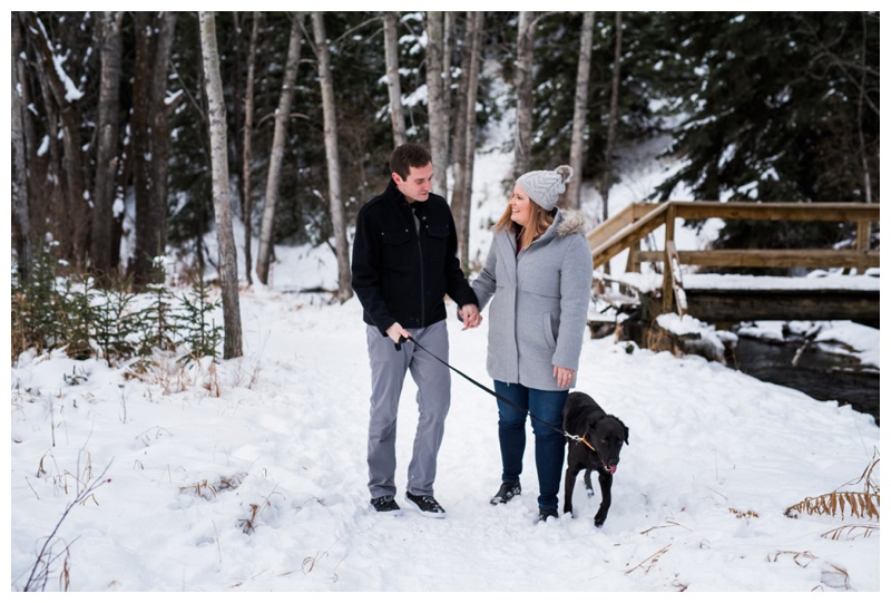 Calgary Couple Photography - Big Hill Spring Park