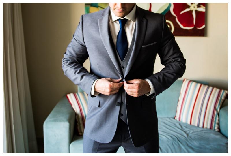 Groom Wedding Details - Calgary Wedding Photographer