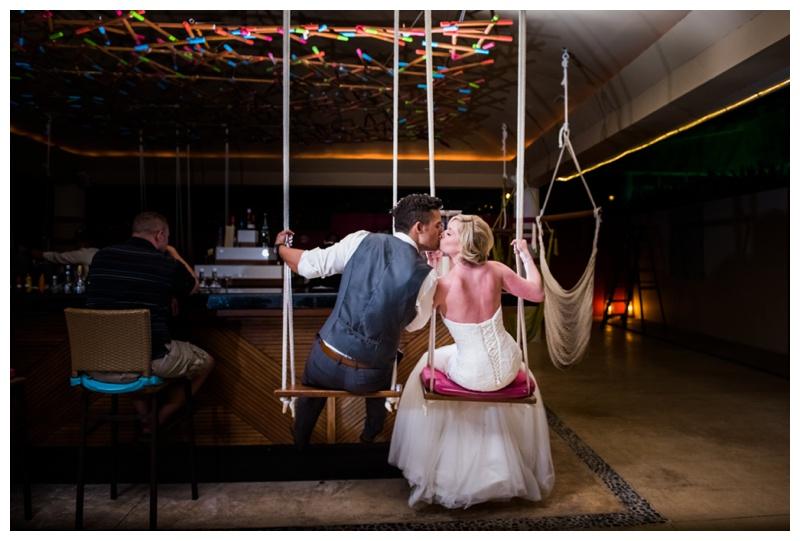Mix Bar Wedding Photos - Now Jade Riviera Cancun - Calgary Wedding Photographer