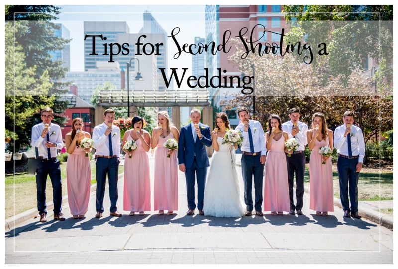 Tips for Second Shooting A Wedding