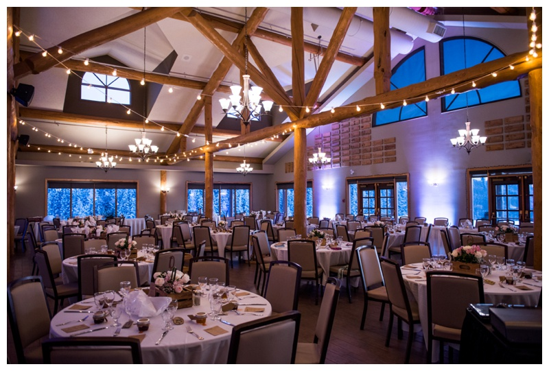 Cochrane Ranche House Wedding Reception