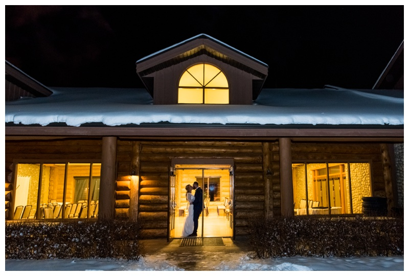 Cochrane Ranche House - Winter Wedding Ceremony