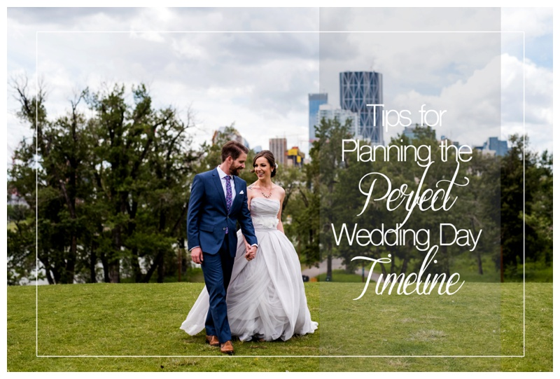 Tips for Planning the Perfect Wedding Timeline