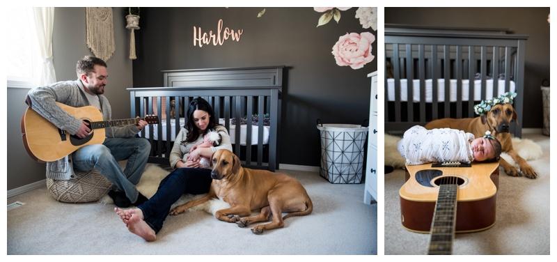 Cochrane In Home newborn Photographer