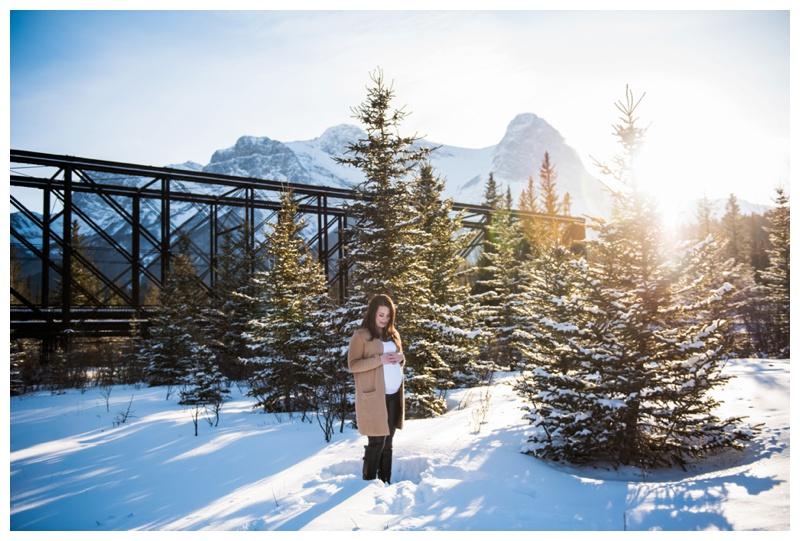 Maternity Photos Canmore Alberta
